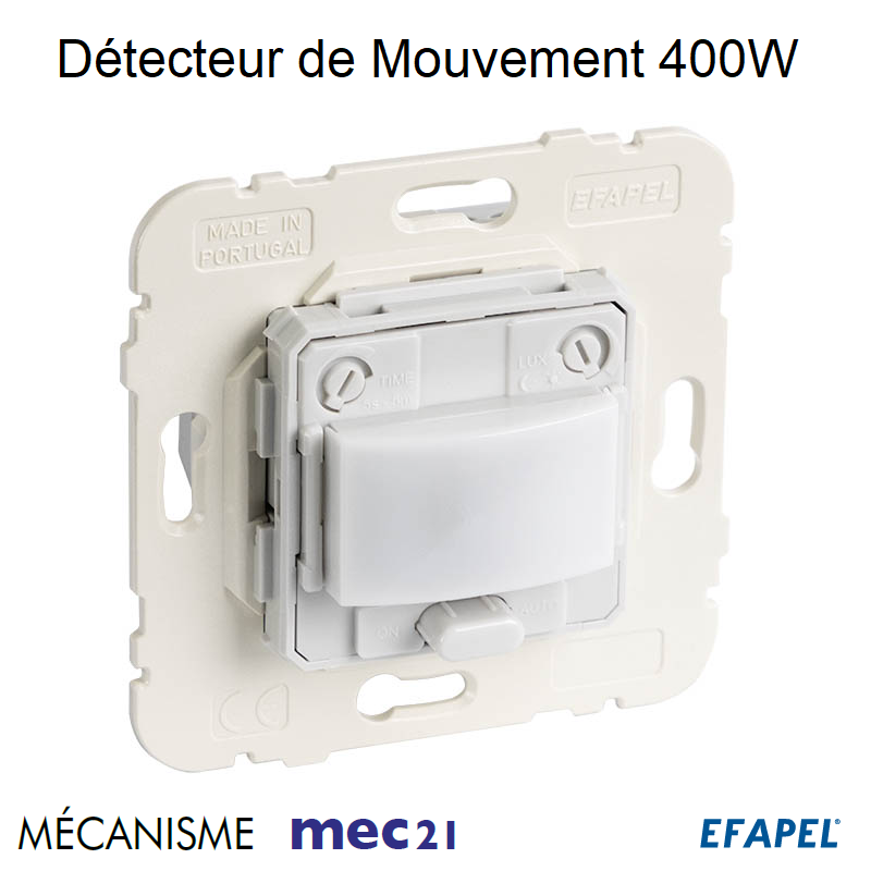 Mécanisme de Détecteur de Mouvement - Installation Murale 400W