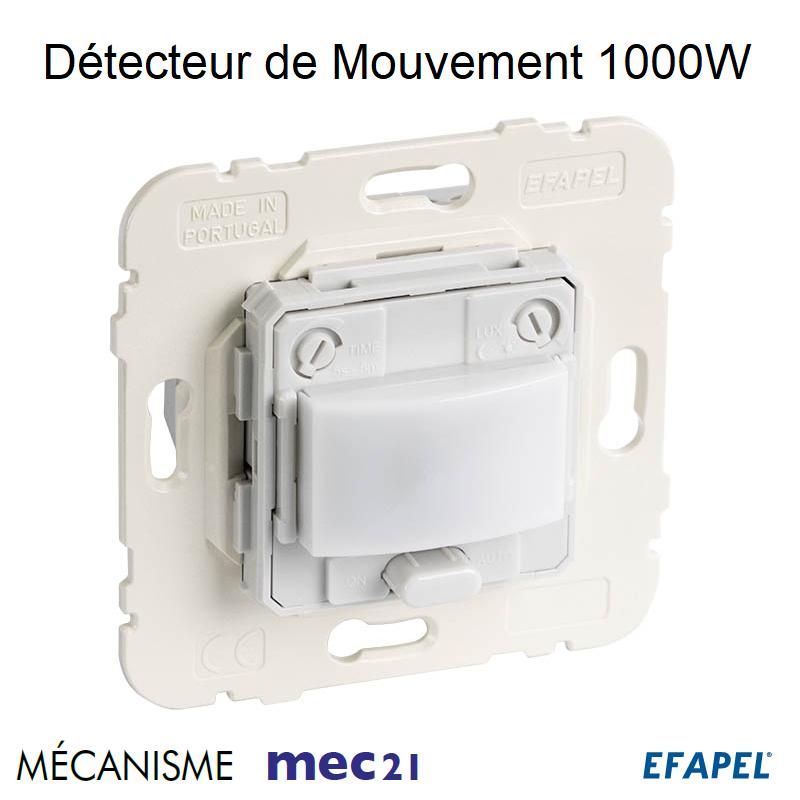 Mécanisme de Détecteur de Mouvement - Installation Murale 1000W