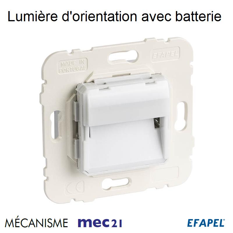 Mécanisme de Lumière d\'Orientation avec Batterie