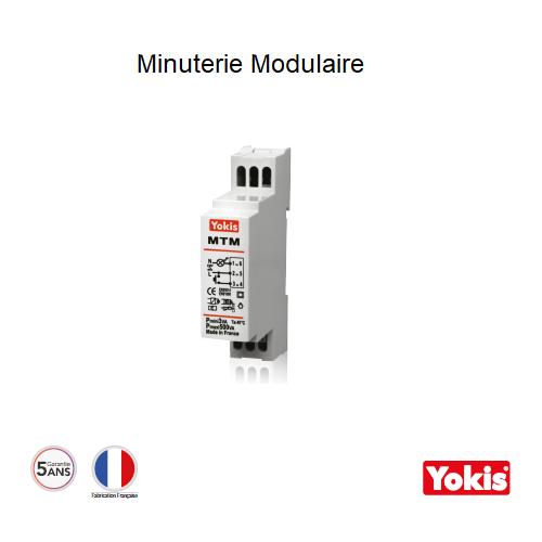 Minuterie 500W sans neutre MTM500M Modulaire
