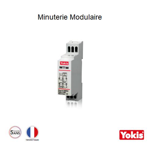 Minuterie 2000W avec neutre MTM500M Modulaire