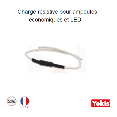 Charge résistive 3W pour ampoules économiques et LED - CHR3W