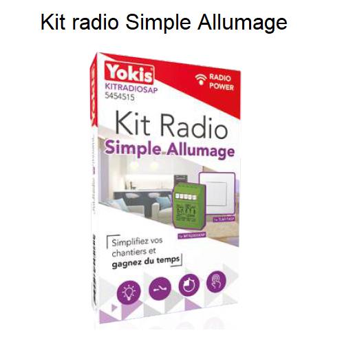 Kit Radio Simple Allumage - KITRADIOSAP