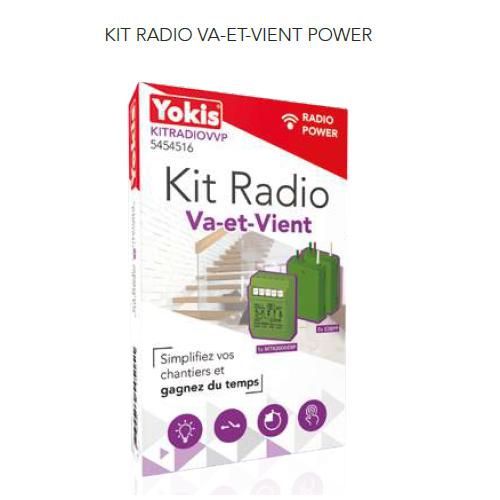 Kit Radio Va-et-Vient - KITRADIOVVP