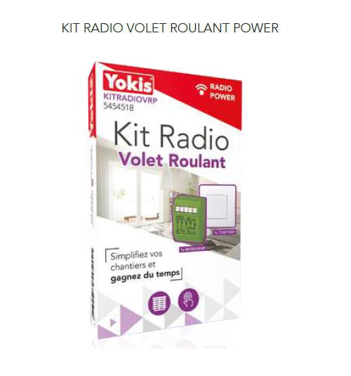 Kit Radio Volet Roulant - KITRADIOVRP