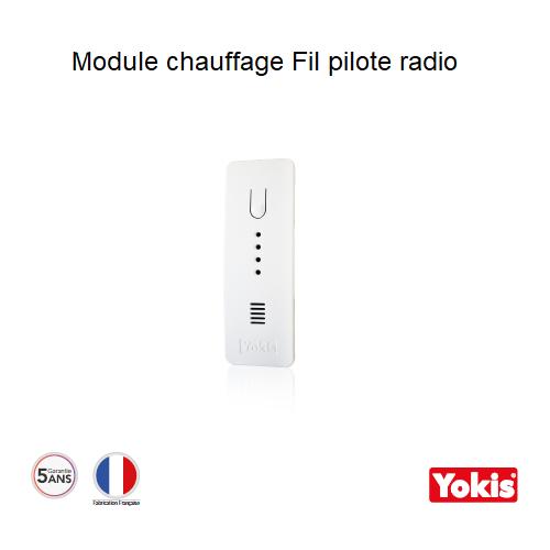 Module Chauffage électrique Fil pilote Radio - MFP6ARP