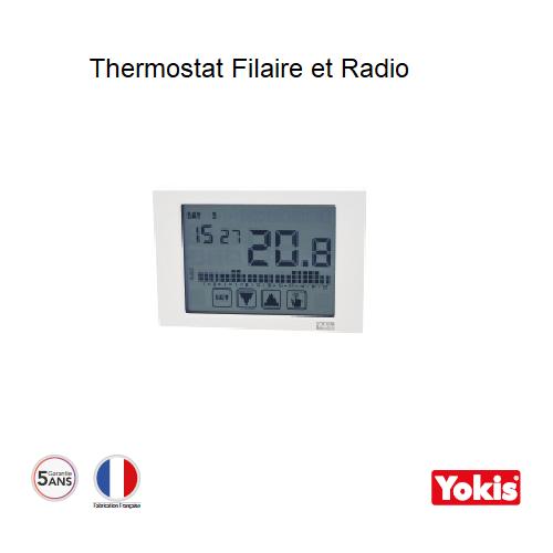 Thermostat Radio Yokis - THERMARP