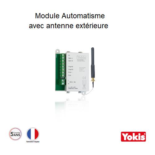 Module Automatisme Radio avec Antenne Yokis MAU500ERPX