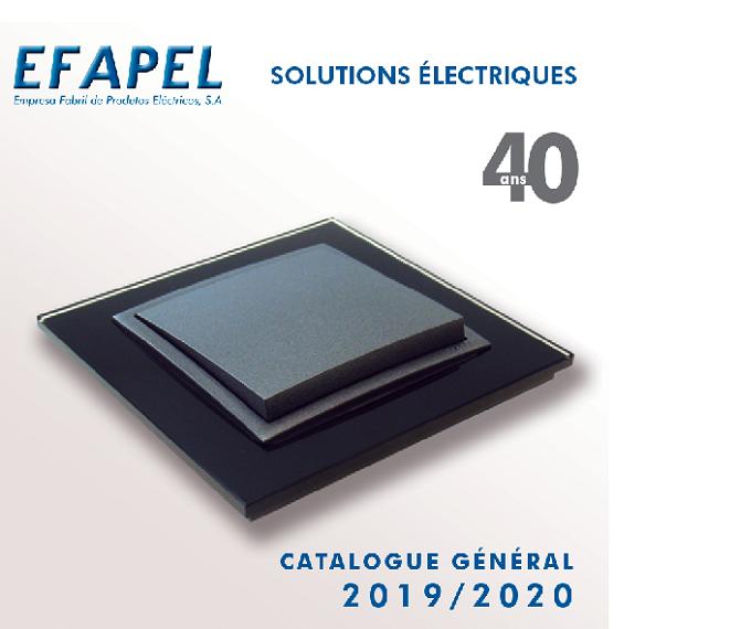 Catalogue général EFAPEL