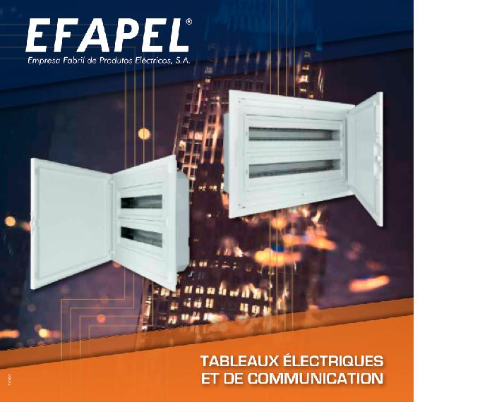 Catalogue Tableau électriques EFAPEL