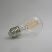 LED Filament A60 4W ou 7W Gradable