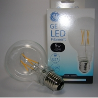 LED Filament EnergySmart Globe G80 5W Claire