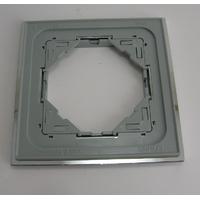 plaque simple METALLO efapel 90910TIA dos