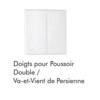 Doigt poussoir double persienne logus90 efapel
