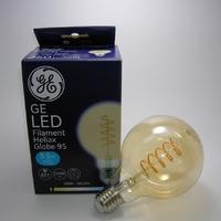 Led Filament Heliax Globe G95 5,5W Gradable E27
