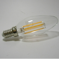 LED Filament Flamme C37 4W gradable