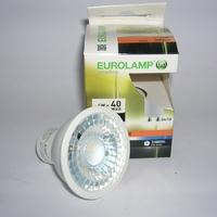 Ampoule LED GU10 4W 3000 kelvin Eurolamp