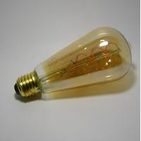 Ampoule LED Filament Déco ST64 Gold 5W Gradable