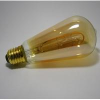 Ampoule LED Filament Déco ST64 Gold 3W Gradable