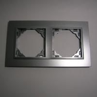 Plaque double animato alumine-alumine 90920TAA