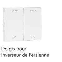 Doigt Inverseur Persienne Blanc sirius 70613TBR