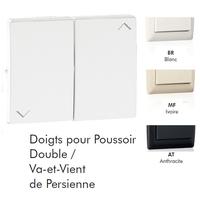 Doigt Poussoir Double Persienne / Va-et-Vient Sirius70