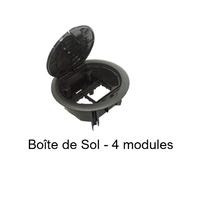 Boîte de Sol pour 4 modules Quadro45