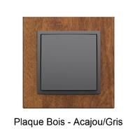 Plaque ARBORE Acajou Gris 90910TMS
