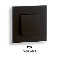 Plaque QUADRO45 - Noir MAT