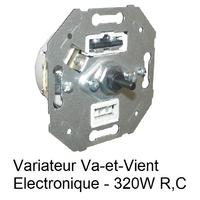 Mécanisme Variateur Va-et-Vient Electronique 320W R,C mec21