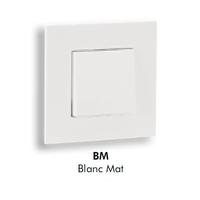 Plaque QUADRO45 - Blanc MAT