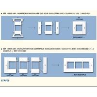 Adaptateur modulaire Q45 schéma montage