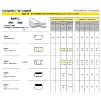 Goulotte 90x50 informations techniques