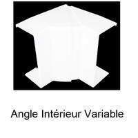 Angle Intérieur Variable pour Goulotte de Distribution Série10