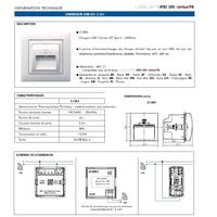 Fiche Technique Chargeur USB Mec21