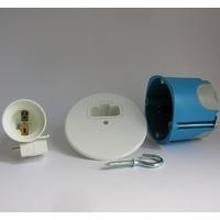 Kit Point de Centre BBC DCL avec douille E27 - Boite 68mm