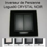 Inverseur de Persienne - Logus90 CRYSTAL NOIR