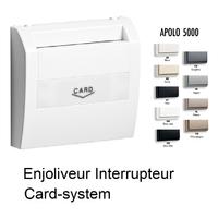 Enjoliveur pour Interrupteur Card-system - Apolo5000