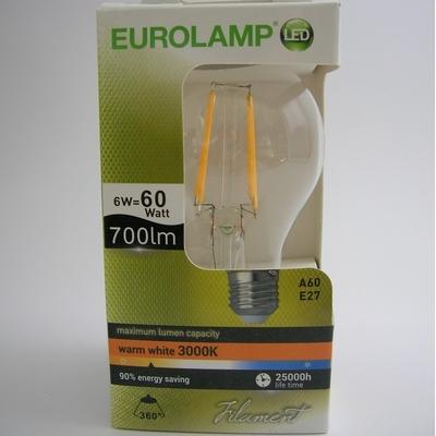 Ampoule LED Filament A60 6W ou 8W
