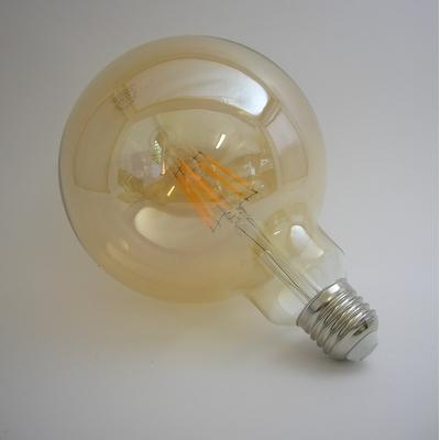 LED Filament Globe G125 Gold 8W Gradable