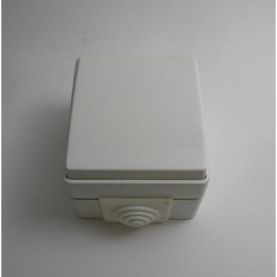 Interrupteur Va-et-Vient IP65 Gris ou Blanc