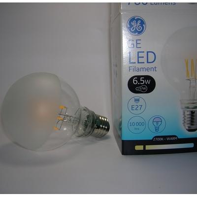 LED Filament EnergySmart Globe G80 6,5W Perlée