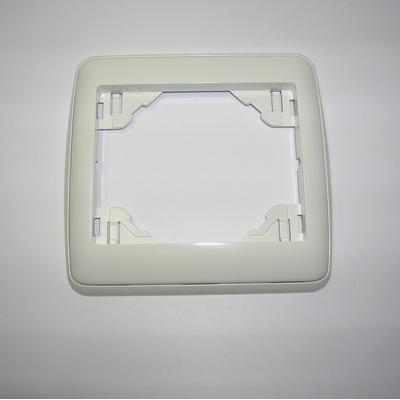 Plaque Simple sirius70 Ambiant Blanc/Blanc
