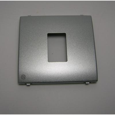 Enjoliveur Prise informatique RJ45 Argent APOLO 5000