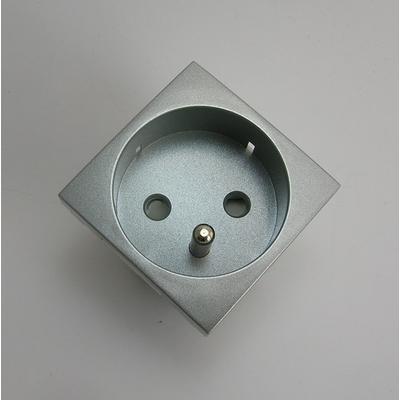 Prise de courant Q45 Semi-Assemblée - 2 modules - Alumine