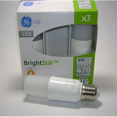 Lot de 3 ampoules LED Brightstik 6W