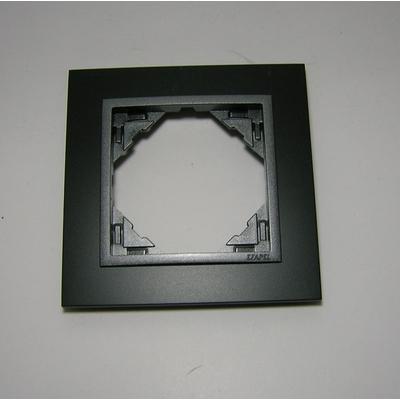 Plaque Animato Noir MAT/Gris LOGUS90