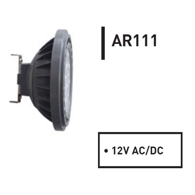 Ampoule Spot LED AR111 Angle 24° TBT 12V 11,5W