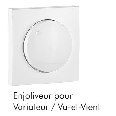 Enjoliveur pour Variateur / Va-et-Vient LOGUS90