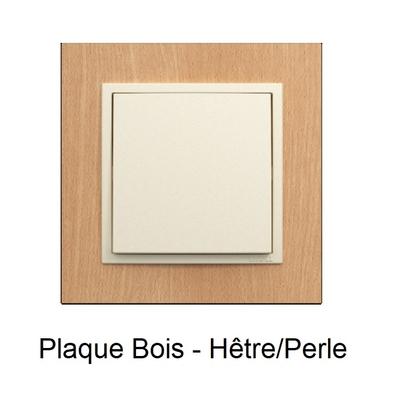 Plaque Bois LOGUS90 ARBORE - Hêtre/Perle